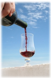 """Wine, it's called """"the nectar of the gods"""" for a reason!"""