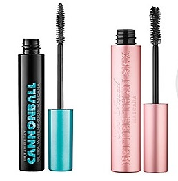 "Urban Decay's ""Cannonball"" and Too Faced ""Better Than Sex"" mascaras"